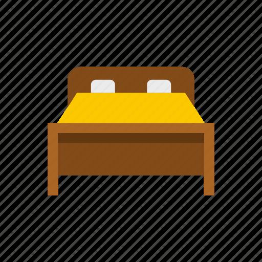 bed, bedroom, hotel, motel, night, room, sleep icon