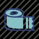 clean, defecate, equipment, furniture, room, tissue, toilet