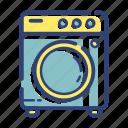 dry, equipment, furniture, laundry, machine, room, wash icon