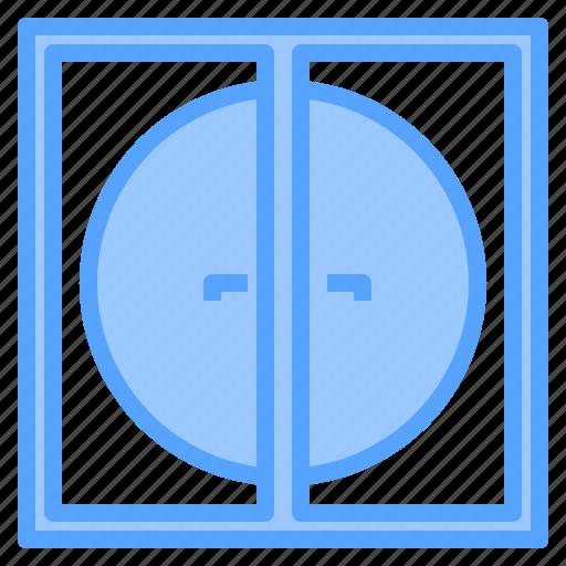 clean, design, door, furniture, room, splendid, tidy icon