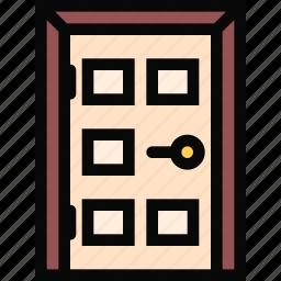 decor, door, furniture, home, interior, plumbing icon