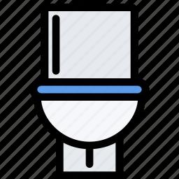 decor, furniture, home, interior, plumbing, toilet icon