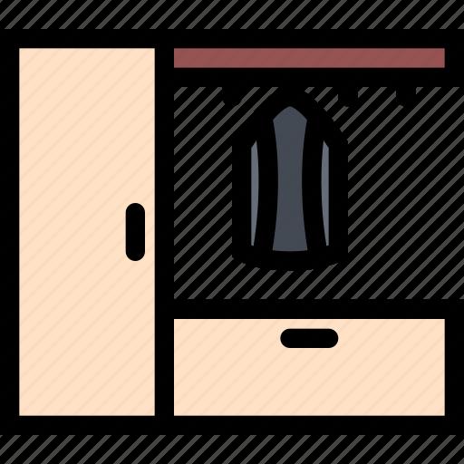 decor, furniture, home, interior, plumbing, wardrobe icon