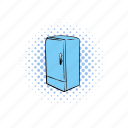 comics, cooler, equipment, freeze, fridge, refrigerator, technology icon