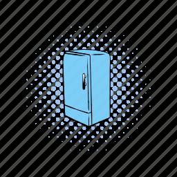 comics, cooler, equipment, freeze, fridge, refrigerator, technology icon