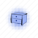 chest, comics, design, furniture, interior, modern, wooden icon