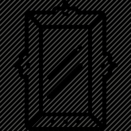 Furniture, glass, interior, mirror, view icon - Download on Iconfinder