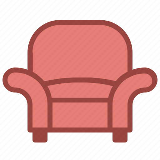 arm, chair, furniture icon
