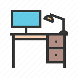 business, computer, desk, notebook, office, pc, window icon