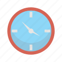 clock, furniture, interior, wall icon