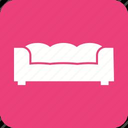 decoration, design, home, interior, large, modern, sofa icon