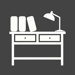 book, desk, education, library, school, study, table icon