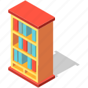 bookshelf, shelf, library, bookcase, interior, book, furniture
