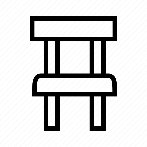 chair, furniture, home, seat icon