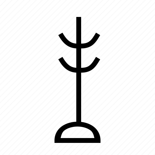 clothing, hanger, rack icon