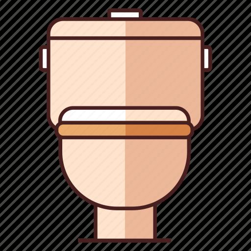 bathroom, furniture, hygiene, restroom, sanitary, toilet, wc icon
