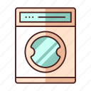 appliance, furniture, household, laundry, machine, wash, washing icon