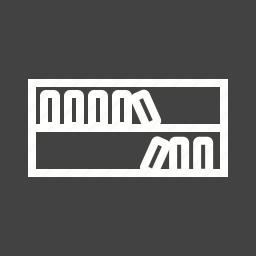 book, books, bookshelf, knowledge, shelf, study, wood icon