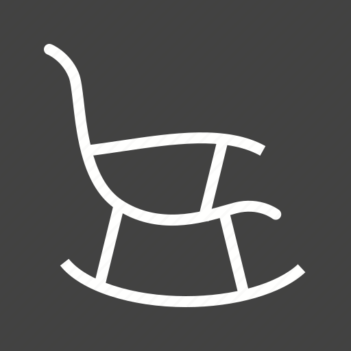 armchair, chair, furniture, relax, rest, rocker, rocking icon