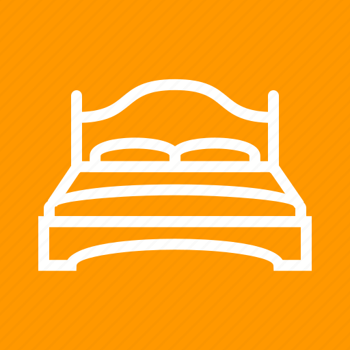 Apartment, bed, bedroom, double, furniture, relaxation, room icon - Download on Iconfinder