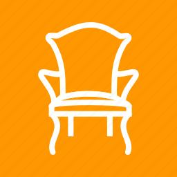 armchair, chair, comfortable, design, furniture, modern icon