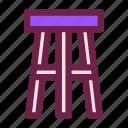 bar, chair, furniture, interior, seat, stool
