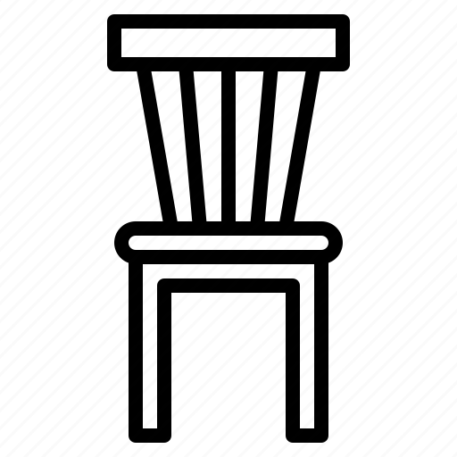 chair, furniture, house, seat, sit icon