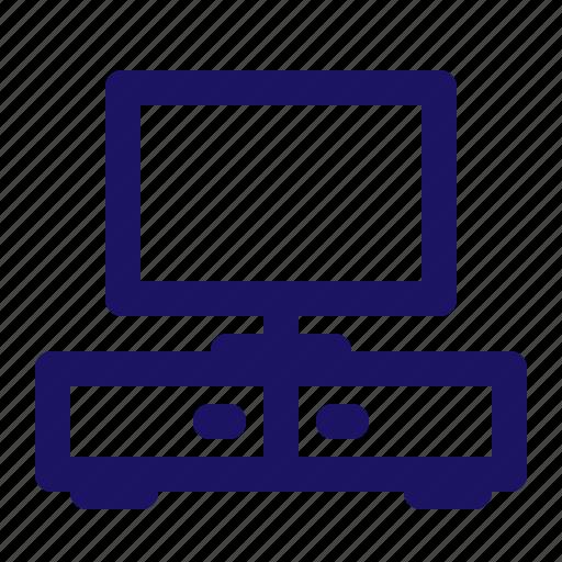 Furniture, home, interior, living, room, tv icon - Download on Iconfinder