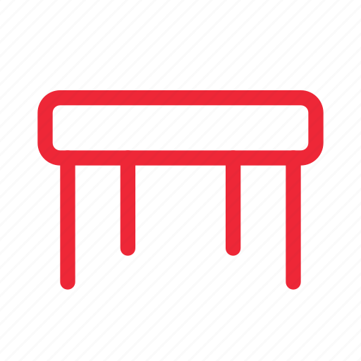 chair, furniture, outline, seat, stool icon