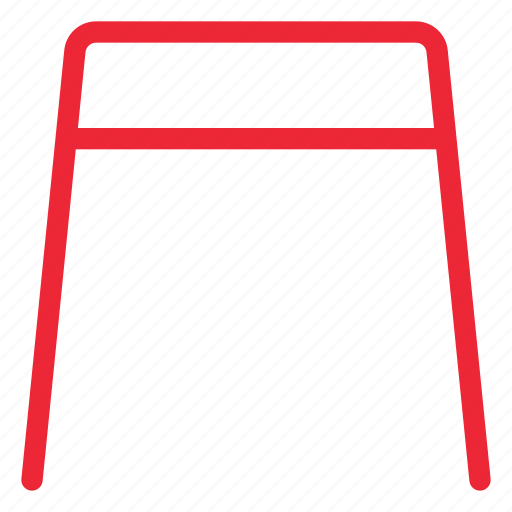 Chair, furniture, seat, stool, outline icon - Download on Iconfinder