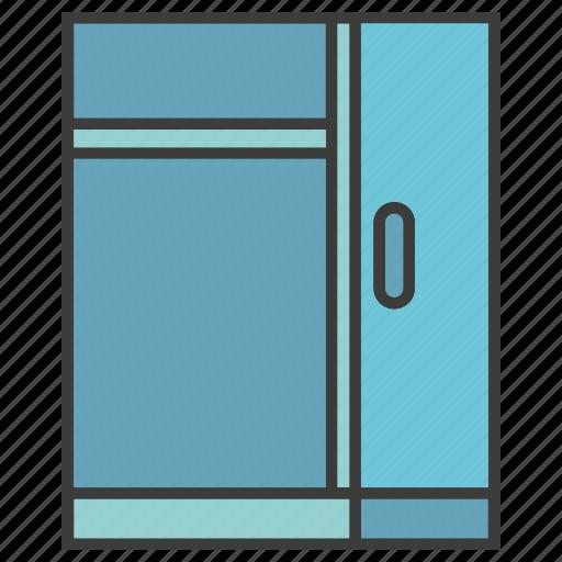 cabinet, closet, cupboard, furniture, locker icon