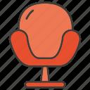 davenport, divan, easychair, seat, settee, sofa icon