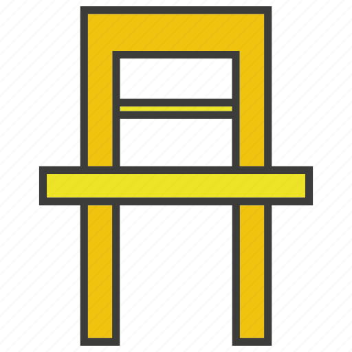 chair, davenport, divan, easychair, seat, settee icon