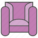davenport, divan, easychair, furniture, seat, settee, sofa icon