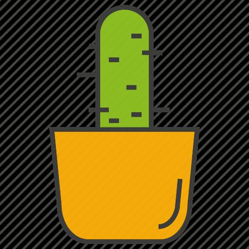 cactus, decor, home decor, plant, pot icon