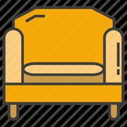 armchair, davenport, divan, easychair, seat, settee, sofa icon