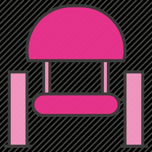 armchair, divan, easychair, seat, settee, sofa icon