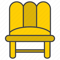 davenport, decor, divan, furniture, home decor, settee, sofa icon
