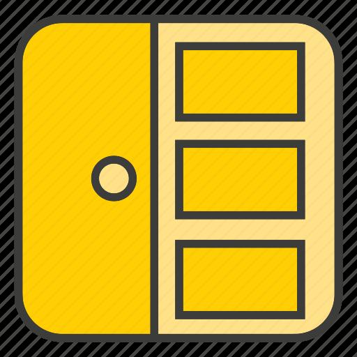 cabinet, closet, cupboard, decor, furniture, home decor, locker icon