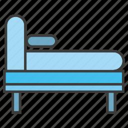 bed, decor, furniture, home decor icon