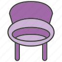 armchair, davenport, divan, easychair, furniture, settee, sofa icon