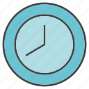 clock, furniture, time icon