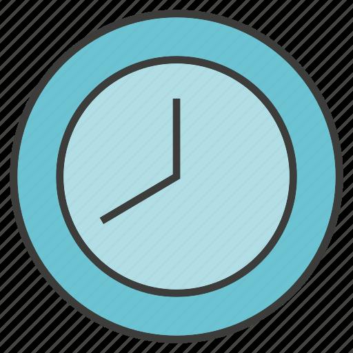clock, furniture, time icon