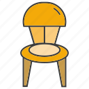 davenport, divan, easychair, furniture, seat, settee icon