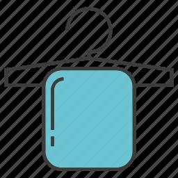 hanger, restroom, towel icon