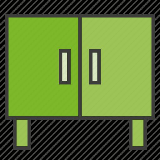cabinet, closet, cupboard, furniture, home decor, locker icon