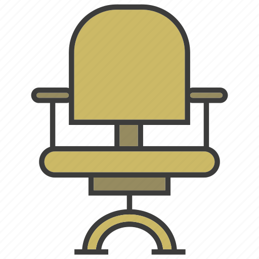 chair, decor, furniture, office chair, seat icon
