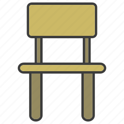 chair, davenport, divan, easychair, furniture, home decor, settee icon