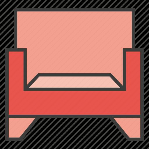 armchair, davenport, divan, easychair, furniture, home decor, sofa icon