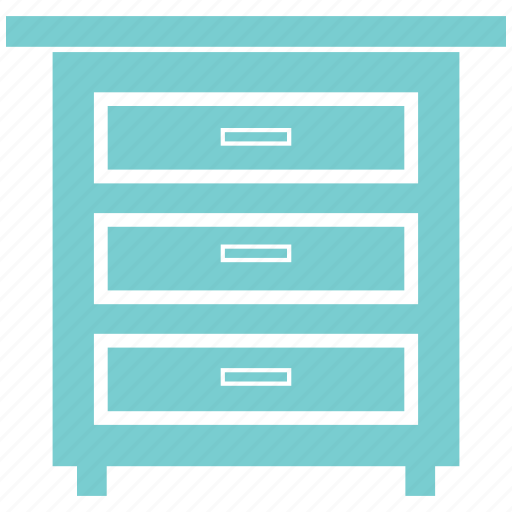 drawer, furniture, home, office, shelve icon